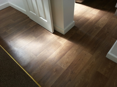 Vinyl Flooring with a Laminate Finish