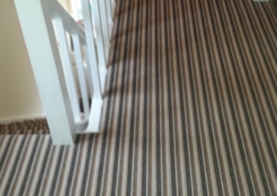 Striped Landing Carpet
