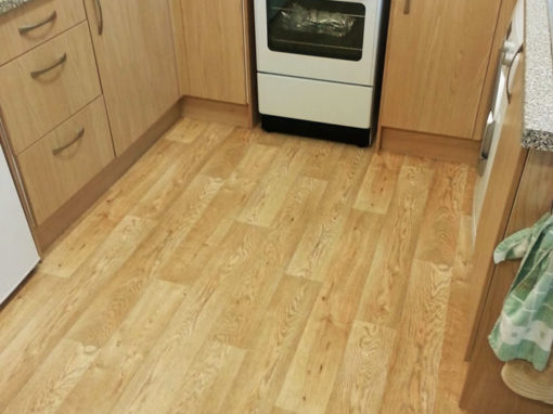 Laminate Effect Kitchen Vinyl