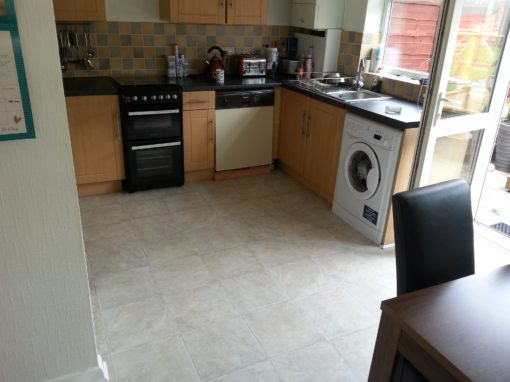 Economical Kitchen Vinyl Flooring